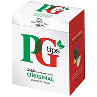 PG Tips Pyramid Tea Bags (Pack of 240)