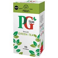 PG Tips Green Tea Bags - Pack of 25