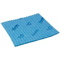 Vileda Breazy Microfibre Cloth Wave Blue (Pack of 25) 0707220