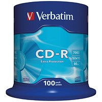 Verbatim CD-R Spindle - Pack of 100