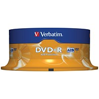 Verbatim DVD-R Spindle - Pack of 25