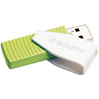 Verbatim Store n Go Swivel USB 2.0 Drive 32GB Green