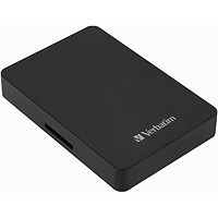 Verbatim Store n Go HDD with Card Reader 1TB + 16GB SD Card 53421