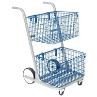 Go Secure Major Mail Trolley - Silver