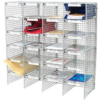 Go Secure Mail Sorter - Grey