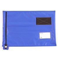 Go Secure Lightweight Security Pouch, A3, 360x470mm, Blue
