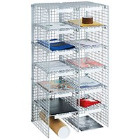 Go Secure Mailroom Sorting Unit 12 Compartment 2 x 6 Columns