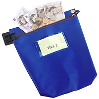 Go Secure High Security Mailing Pouch, 267x267x50mm, Blue