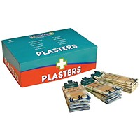 Wallace Cameron Pilferproof Plasters Refill, Fabric, Pack of 150