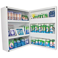 Wallace Cameron First Aid Cabinet With Supplies 1-50 People