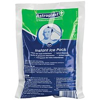 Wallace Cameron Instant Cold Pack, Disposable, Chemically-activated