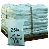 Winter De-Icing Salt 25kg - Pallet of 40 Bags