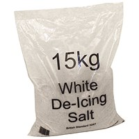 White Winter De-Icing Salt 15kg - Pack of 10 Bags