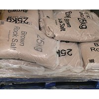 Winter Dry Brown Rock Salt 25kg - Pack of 10 Bags