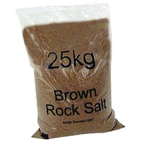Winter Dry Brown Rock Salt 25kg