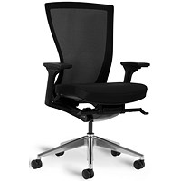 Bestuhl S10 High Back Mesh Task Chair - Chrome Base