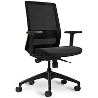 Bestuhl S30 High Back Mesh Task Chair - Black