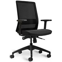 Bestuhl S30 High Back Mesh Task Chair White/Black