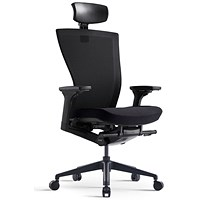 Bestuhl S10 High Back Mesh Task Chair With Headrest