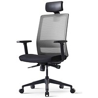 Bestuhl S30 High Back Mesh Task Chair With Headrest