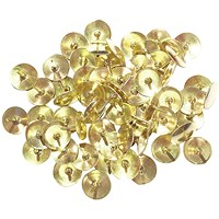 Brass Drawing Pins 11mm (Pack of 1000)