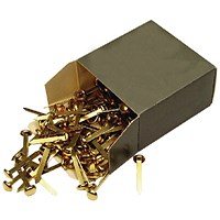 Brass Paper Fastener 40mm (Pack of 200)