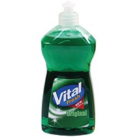Vital Fresh Washing Up Liquid 500ml (Pack of 12)