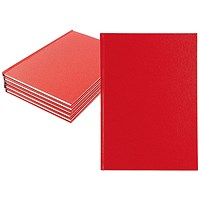 Manuscript A4 Book Ruled Feint - Pack of 5