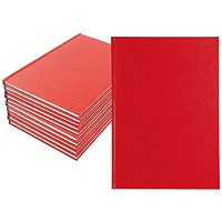 Manuscript A5 Book Ruled Feint - Pack of 10