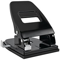 Black Heavy Duty Metal Hole Punch 40 Sheet