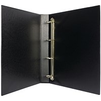Black 25mm 4D Presentation Binder (Pack of 10)
