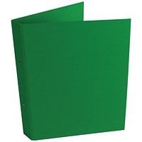 2-Ring Ring Binder A4 25mm Green (Pack of 10)