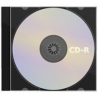 CD-R Slimline Jewel Case 80min 52x 700MB (Recordable with 52x write speed)