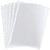 A4 Punched Pocket Clear 35 micron 270486 (Pack of 100)