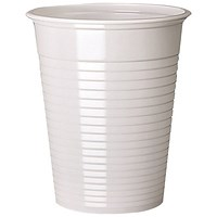 White Drinking Cups 7oz (Pack of 2000) DVPPWHCU02000
