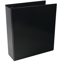 Black 65mm 4D Presentation Ring Binder (Pack of 10)