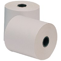 Everyday Paper Roll, 3-Ply, White, Pink & Yellow, 76x76x12.7mm, Pack of 20