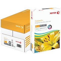 Xerox Colotech+ A4 Paper, White, 250gsm, Box (4 x 250 Sheets)