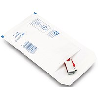 Bubble Lined Envelopes Size 1 100x165mm White (Pack of 200) XKF71447