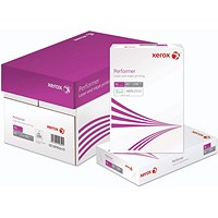 Xerox PerFormer A4 White Paper, 80gsm, Box (5 x 500 Sheets)