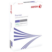 Xerox A4 White Premier Paper White, 100gsm, Ream (500 Sheets)