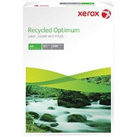 Xerox A3 Recycled Supreme, White, 80gsm, Ream (500 Sheets)