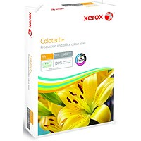 Xerox Colotech+ A4 Paper White, 90gsm, Ream (500 Sheets)
