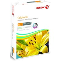 Xerox Colotech+ A3 Paper White, 100gsm, Ream (500 Sheets)