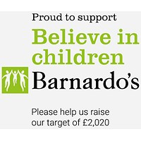 Donate 2% of spend to Barnardos