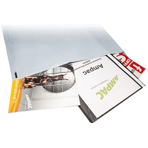 Image of Keepsafe Extra Strong Polythene Envelopes / DX / W400xH430mm / Peel & Seal / Opaque / Box of 100