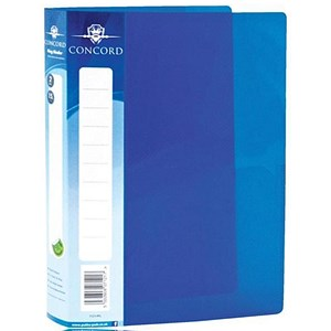 Image of Concord Vibrant Ring Binder / 2 O-Ring / 30mm Spine / 15mm Capacity / A5 / Blue / Pack of 10