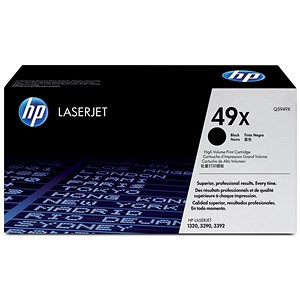 Image of HP 49X Black Laser Toner Cartridge