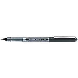 Image of Uni-ball Eye UB150 Rollerball Pen / Micro / 0.5mm Tip / 0.2mm Line / Black / Pack of 12