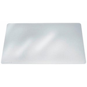 Image of Durable Duraglas Desk Mat with Anti-glare / W650xD500mm / Transparent